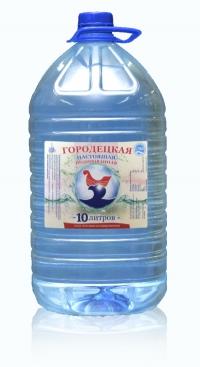 """Питьевая вода """"Городецкая настоящая"""" 10 литров йодированная"""