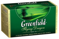 """Чай """"Гринфилд"""" зеленый 25 пак."""