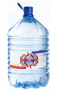 """Питьевая вода """"Городецкая настоящая"""" 19 литров (одноразовая тара)"""